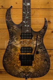 Ibanez J Custom Burl Top Root Beer Brown Andara
