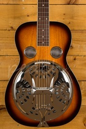 Gold Tone Paul Beard Signature Square Neck Resonator