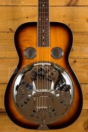 Gold Tone Paul Beard Signature Round Neck Resonator