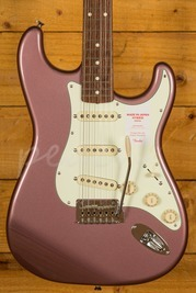 Fender FSR MIJ Traditional 60s Strat Rosewood Burgundy Mist