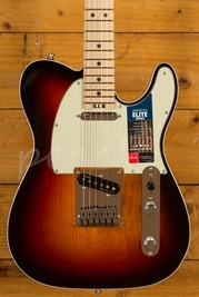 Fender American Elite Tele Maple 3 Tone Sunburst