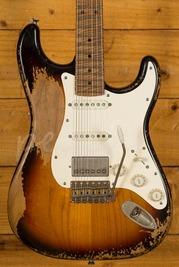 Xotic California Classic XSC-2 Super Heavy Aged 3 Tone Burst