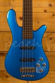 Warwick RockBass Streamer LX 5-String - Metallic Blue High Polish