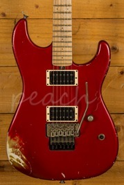 Friedman Cali Guitar Candy Apple Red HH