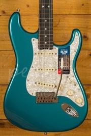 Fender Elite Strat Ocean Turquoise Ebony Fingerboard Used