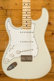 Fender Custom Shop 59 Strat NOS Olympic White Maple Neck Left Handed