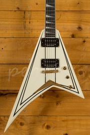 Jackson Pro RRT-3 Rhoads Ivory With Black Stripes