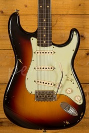 Fender Custom Shop 62 Relic Strat 3 Tone Sunburst