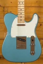 Fender Player Tele Maple Neck Tide Pool Blue Left Handed