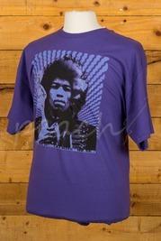Fender Hendrix Kiss The Sky T-Shirt Purple