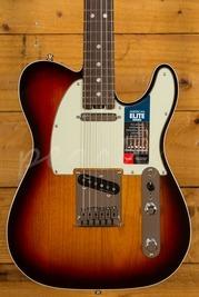 Fender American Elite Telecaster Rosewood Fingerboard 3 Color Sunburst
