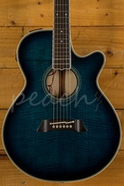Takamine Dual EF591 Acoustic Guitar Used