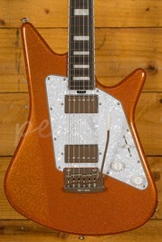 Music Man Albert Lee BFR HH Orange Crush