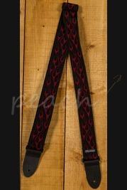 Jim Dunlop Guitar Strap Flambe Red