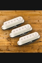 Fishman Fluence Single Width Pickups for Strat, Set of 3, White