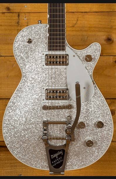Gretsch - G6129T PRO Players Edition Jet - Silver Sparkle