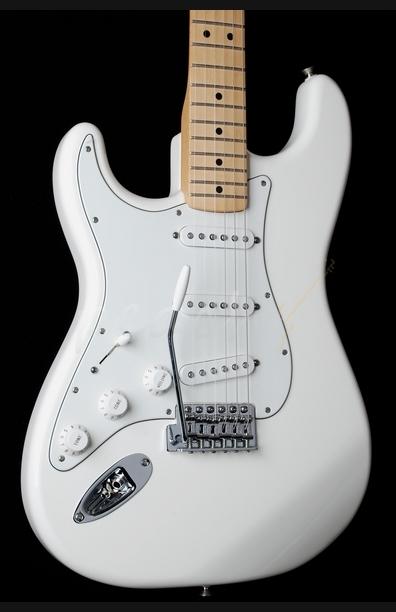 Fender Mex Standard Strat Arctic White left handed