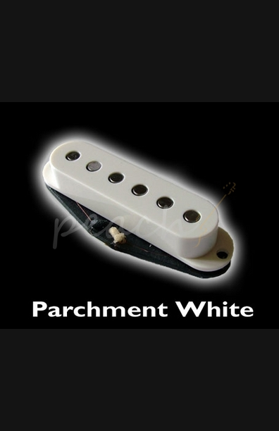 Bare Knuckle 'Apache' Single coil set Parchment