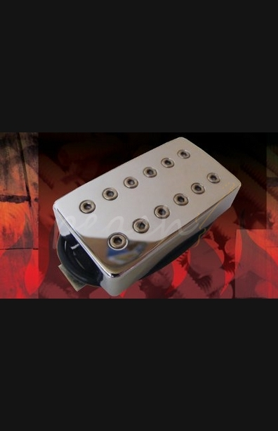Bare Knuckle Aftermath Bridge Humbucker Nickel