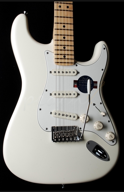 Fender American Standard Strat 2012 spec Maple Olympic White