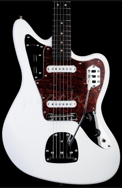 Squier Vintage Modified Jaguar Olympic White