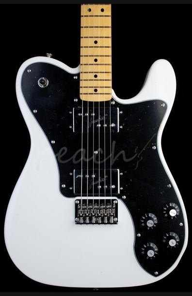 Squier Vintage Modified Tele Deluxe Olympic White