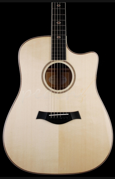 Taylor DNce Fall Limited Dreadnought Quilted Sapele
