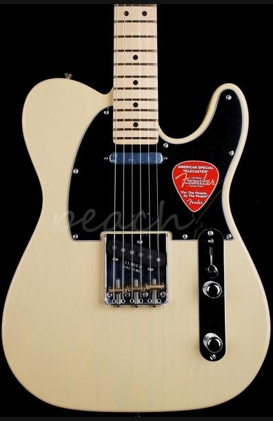 Fender American Special Telecaster Maple Vintage Blonde