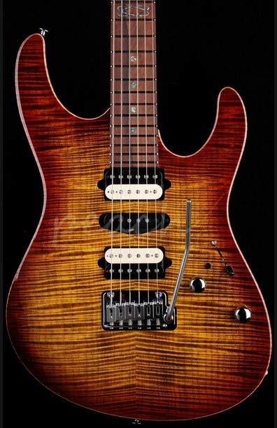 Suhr Modern Bengal Burst with Reverse Headstock