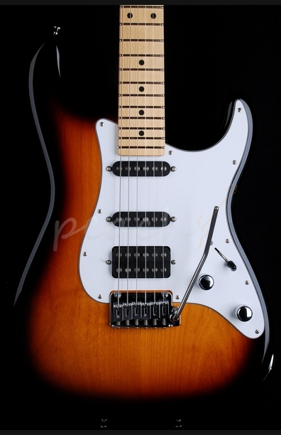 Schecter USA Custom Shop Traditional 3 Tone Sunburst