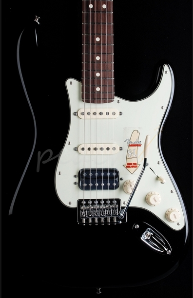 Fender Deluxe Lonestar Strat Rosewood Black