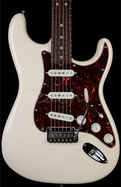 Fender Vintage Hot Rod 60's Strat Olympic White Rosewood