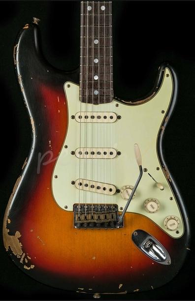 Fender Custom Shop Michael Landau Signature 1968 Relic Strat Sunburst