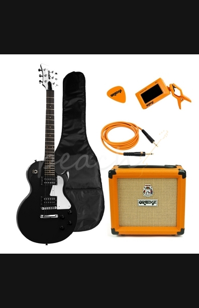 Orange Guitar Pack