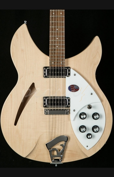 Rickenbacker 330 12 String Electric Guitar in Mapleglo