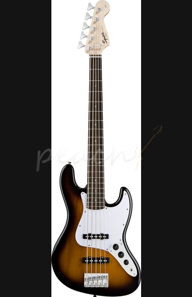 Squier Affinity Jazz Bass V Sunburst 5 String
