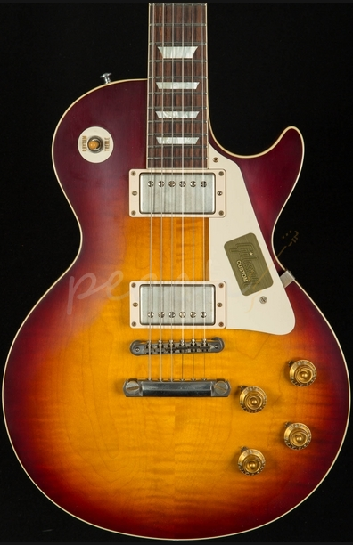 Gibson Custom 1958 Les Paul Plain Top Bourbon Burst