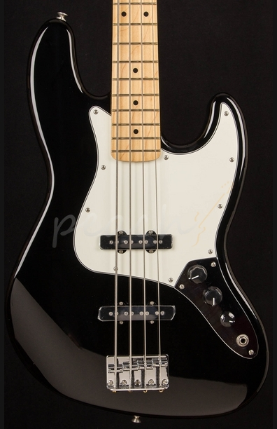 Fender Mexican Standard Jazz Bass Black Maple Neck
