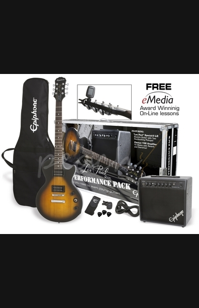 Epiphone Les Paul Performance Pack Vintage Sunburst