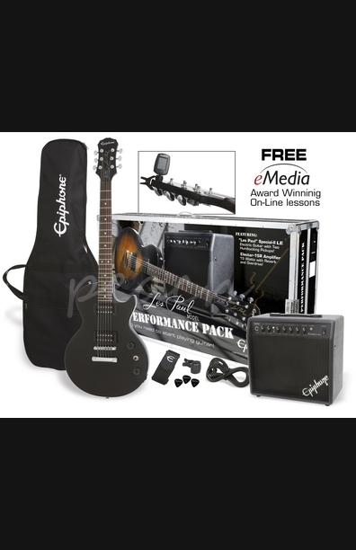 Epiphone Les Paul Performance Pack Ebony