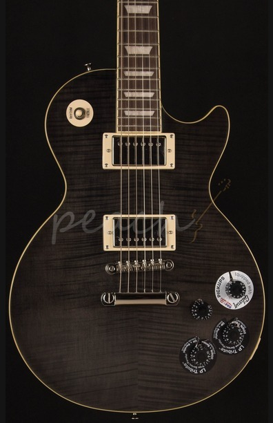 Epiphone Les Paul Tribute Plus - Midnight Ebony
