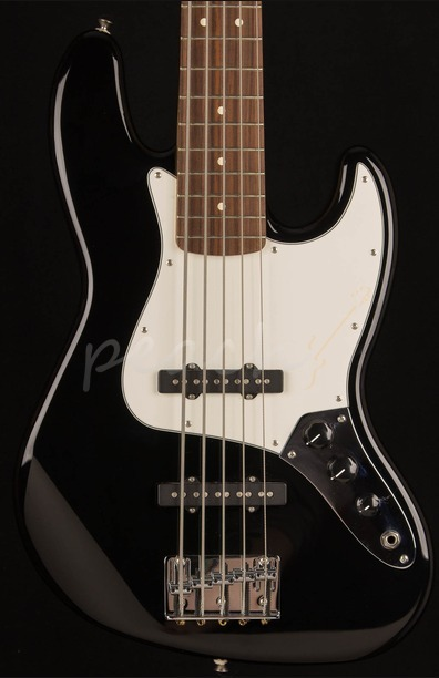 Fender Standard Jazz Bass V Black 5 String