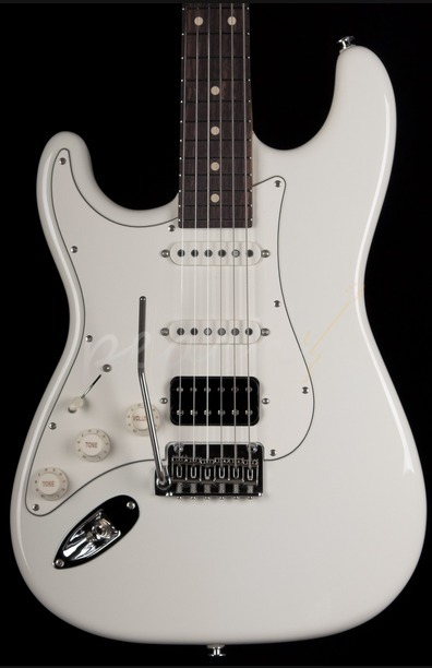 Suhr Classic Pro Olympic White RW HSS Left Handed