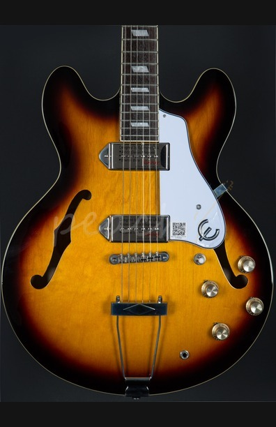 Epiphone Casino Hollowbody Electric Guitar - Vintage Sunburst