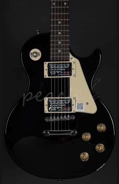 Epiphone LP-100 Ebony Chrome Hardware