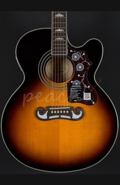 Epiphone EJ-200CE Vintage Sunburst with Gold Hardware