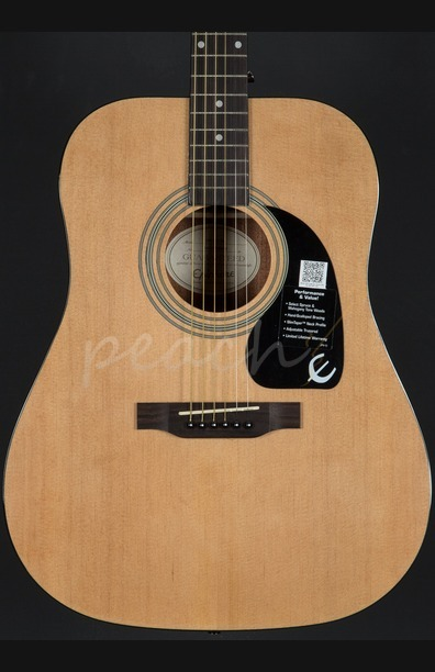 Epiphone DR-100 Acoustic Guitar Natural