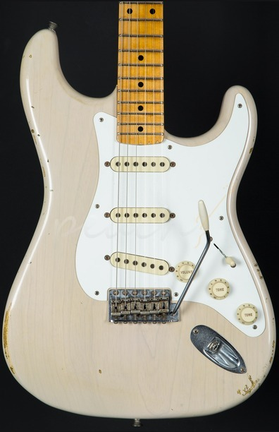 Fender Custom Shop Limited Edition 55' Relic Strat - Dirty White Blonde