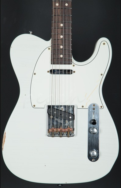 Suhr Classic T Antique Olympic White Indian Rosewood