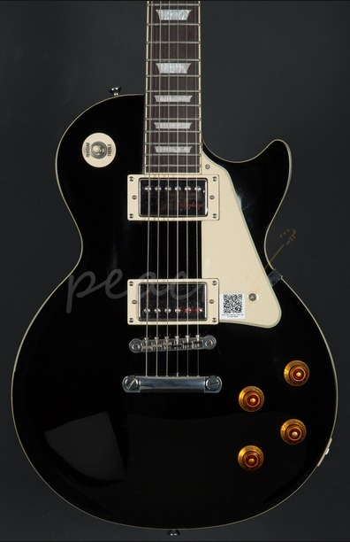 Epiphone Les Paul Standard Ebony Chrome Hardware